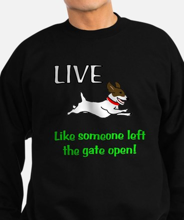 Live the gates open Sweatshirt (dark)