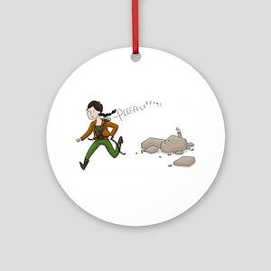 Katniss and Peeta Ornament (Round)