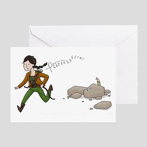 Katniss and Peeta Greeting Card