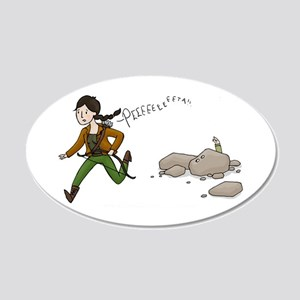 Katniss and Peeta 22x14 Oval Wall Peel