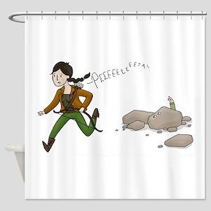 Katniss and Peeta Shower Curtain
