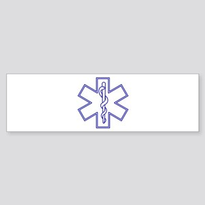 Blue Star of Life (outline) Sticker (Bumper)