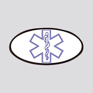 Blue Star of Life (outline) Patches