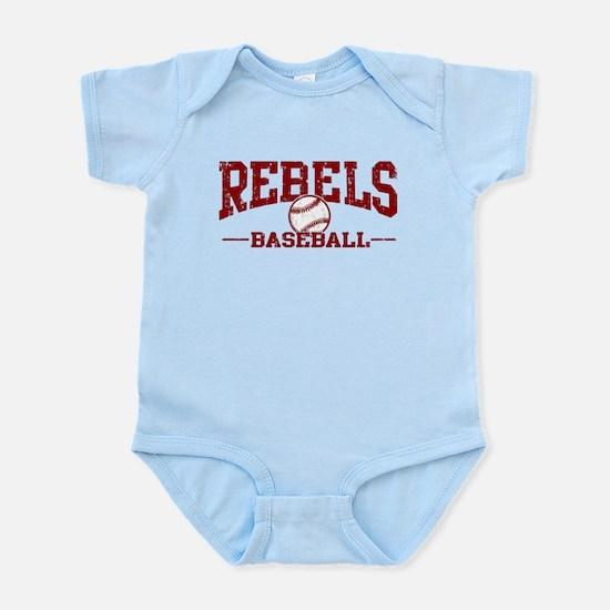 Rebels Baseball Infant Bodysuit