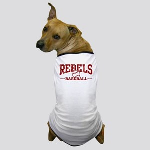 Rebels Baseball Dog T-Shirt