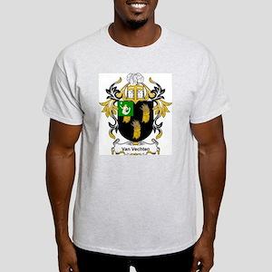 Van Vechten Coat of Arms Ash Grey T-Shirt