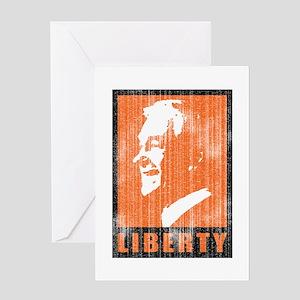 Ron Paul - Liberty Greeting Card
