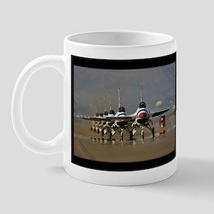 Thunderbirds Taxi Back Mug