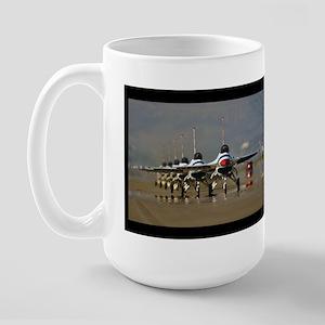Thunderbirds Taxi Back Large Mug