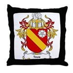Touw Coat of Arms Throw Pillow