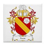 Touw Coat of Arms Tile Coaster