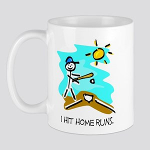 I Hit Home Runs Mug