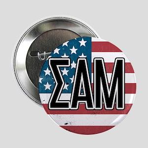 "Sigma Alpha Mu US Flag 2.25"" Button (100 pack)"