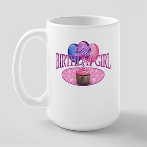 The Birthday Girl Large Mug Mugs