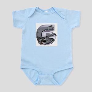 Heavy Metal 6 Infant Creeper