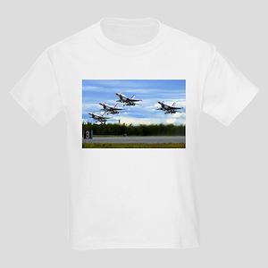 Thunderbirds Take Off Kids Light T-Shirt