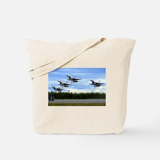 Thunderbirds Take Off Tote Bag