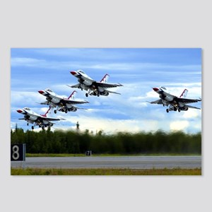 Thunderbirds Take Off Postcards (Package of 8)