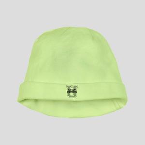 Curly UNIVERSITY baby hat