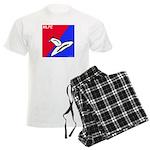Major League Pussy Eating Men's Light Pajamas