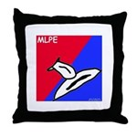 Major League Pussy Eating Throw Pillow