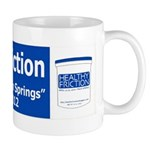 Healthy Friction Billboard wi Mug