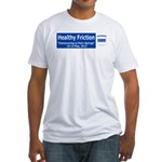 Healthy Friction Billboard wi Fitted T-Shirt