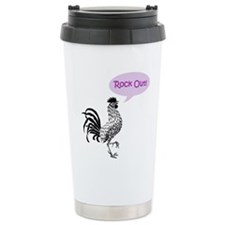 Rock Out Stainless Steel Travel Mug