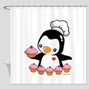 Bake a Cupcake Shower Curtain
