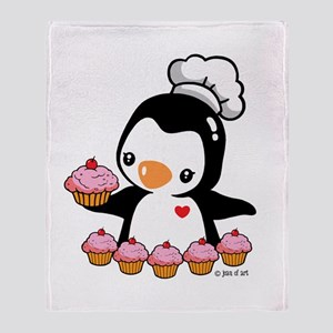 Bake a Cupcake Throw Blanket