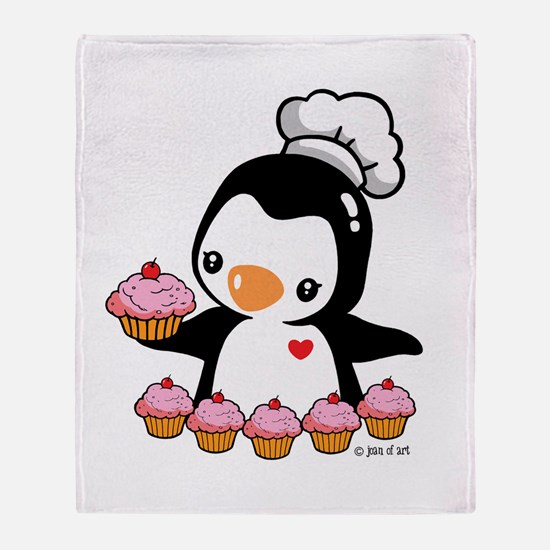 Bake a Cupcake Throw Blanket