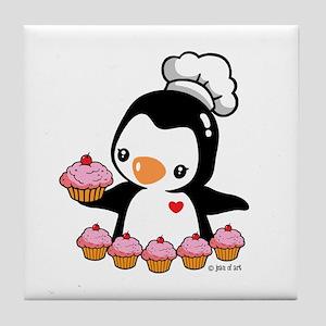 Bake a Cupcake Tile Coaster