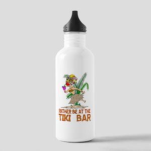 Rather be.... Tiki Goddess Stainless Water Bottle