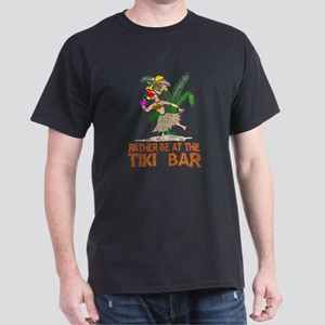 Rather be.... Tiki Goddess Dark T-Shirt