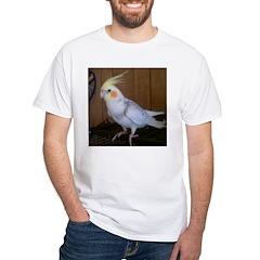Cockatiel White T-Shirt