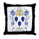 Van der Tol Coat of Arms Throw Pillow