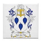 Van der Tol Coat of Arms Tile Coaster