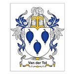 Van der Tol Coat of Arms Small Poster
