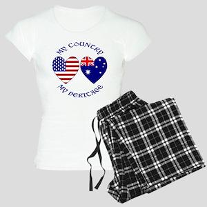 USA / Australian Heritage Women's Light Pajamas