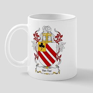 Van Tiel Coat of Arms Mug