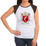 Van der Straten Coat of Arms Women's Cap Sleeve T-