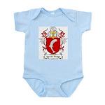 Van der Straten Coat of Arms Infant Creeper