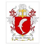 Van der Straten Coat of Arms Small Poster