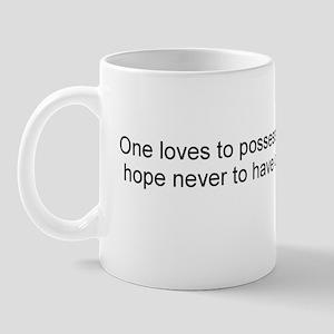 Jefferson: One loves to possess arms Mug