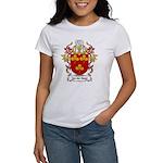 Van der Steen Coat of Arms Women's T-Shirt