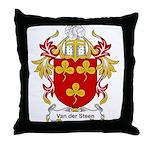 Van der Steen Coat of Arms Throw Pillow