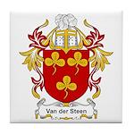 Van der Steen Coat of Arms Tile Coaster