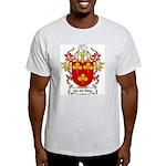 Van der Steen Coat of Arms Ash Grey T-Shirt