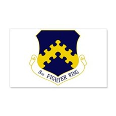8th Fighter Wing 22x14 Wall Peel