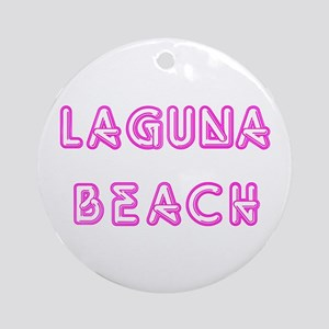Laguna Beach Ornament (Round)